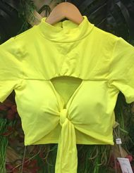 Top Cropped  Amarelo Cropped 6518